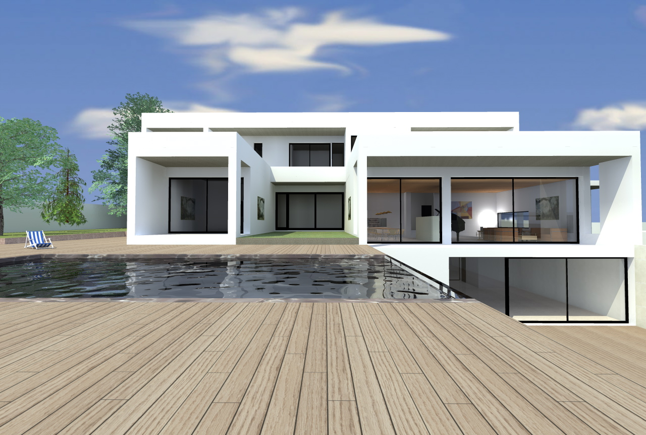 Daq arquitectura estudio de arquitectos for Honorarios arquitecto vivienda unifamiliar